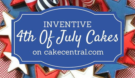 Inventive Independence Day (4th Of July) Cakes