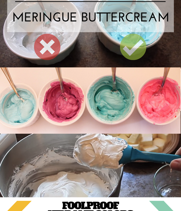 4 Ways To Color Swiss Meringue Buttercream SMBC