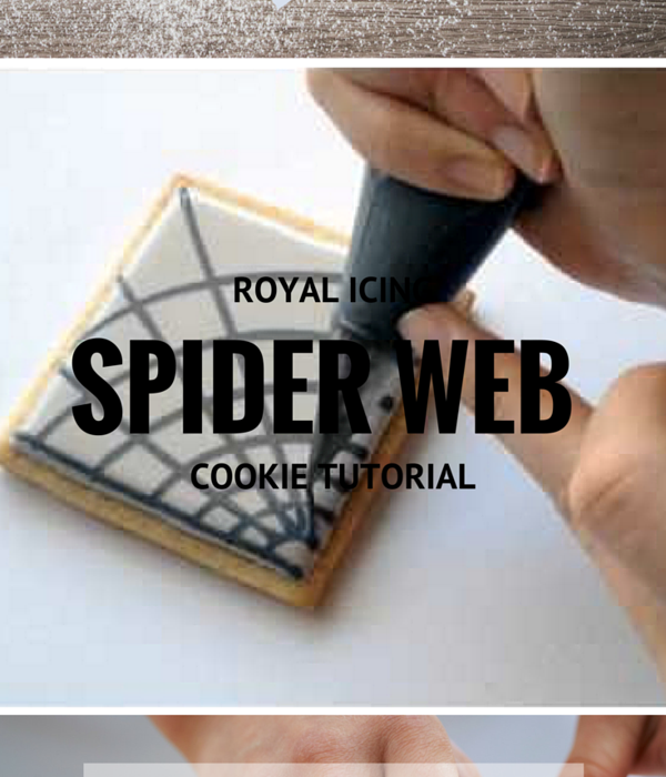 How To Make A Royal Icing Spiderweb
