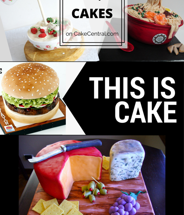 Top Food-Inspired Cakes