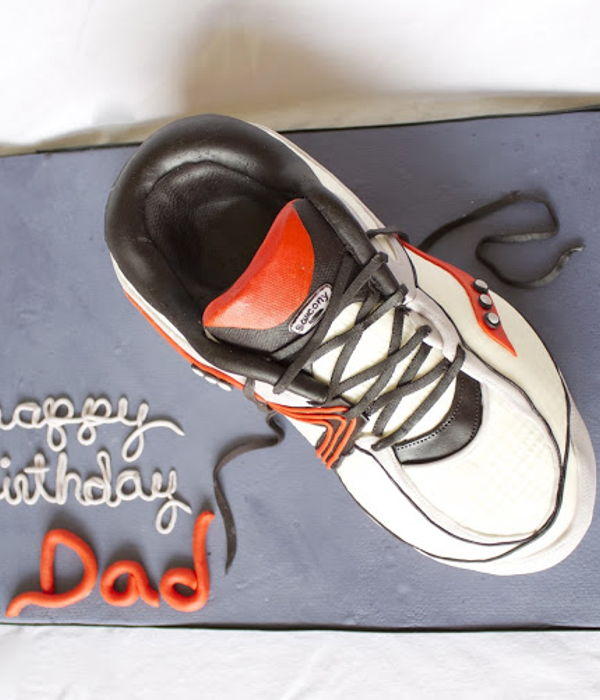 3D Running Shoe Cake Tutorial