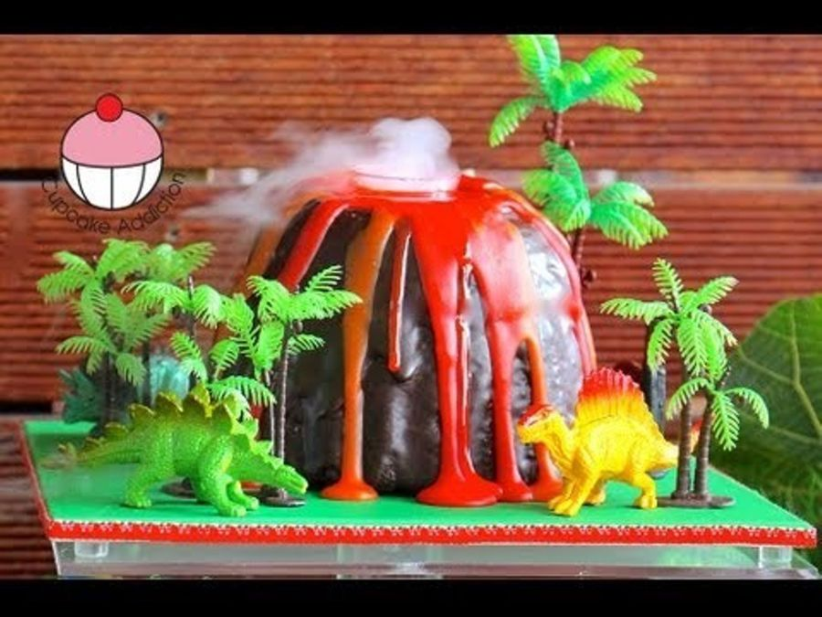 How To Make A Smoking Volcano Cake Cakecentral Com