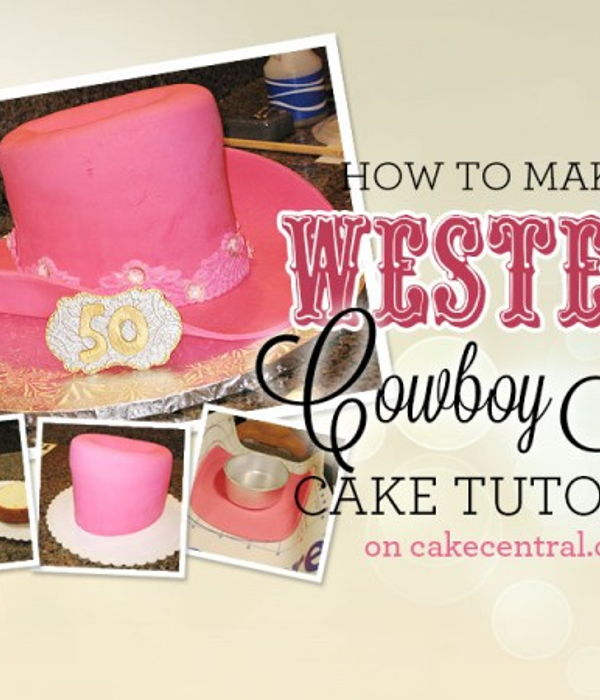 How to Make a Cowboy Hat Cake