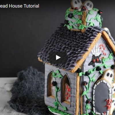 Gingerbread Haunted House For Halloween on Cake Central