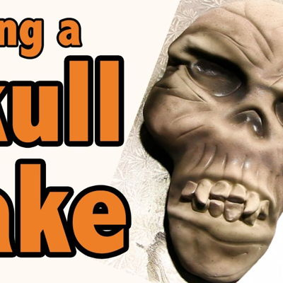 How to Make a Skull Cake for Halloween | Cake Tutorial on Cake Central