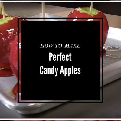 How to Make Perfect Candy Apples on Cake Central
