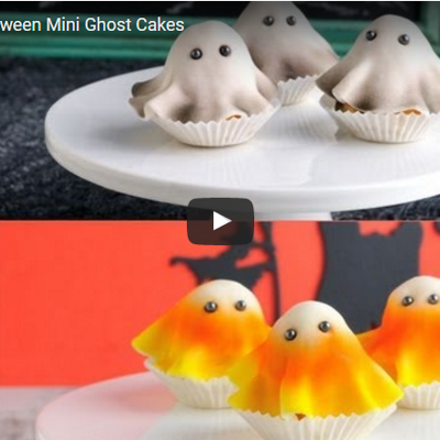 Mini Ghost Cakes for Halloween on Cake Central