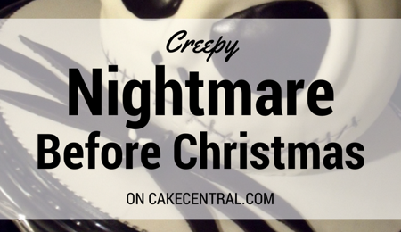 Creepy Nightmare Before Christmas Cakes