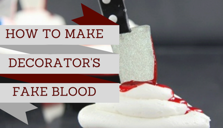 Decorator's Fake Blood Recipe