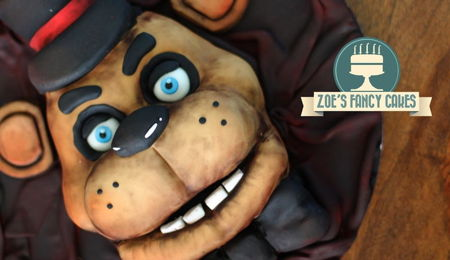 Five Nights at Freddy's cake : Freddy Fazbear Halloween cakes