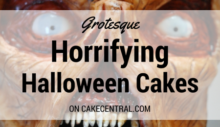 Seriously Spooky Halloween Cakes