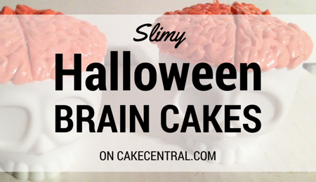 Top Halloween Brain Cakes