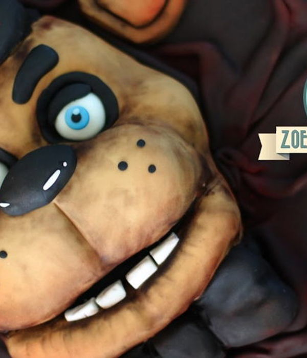 Five Nights at Freddy's cake : Freddy Fazbear...
