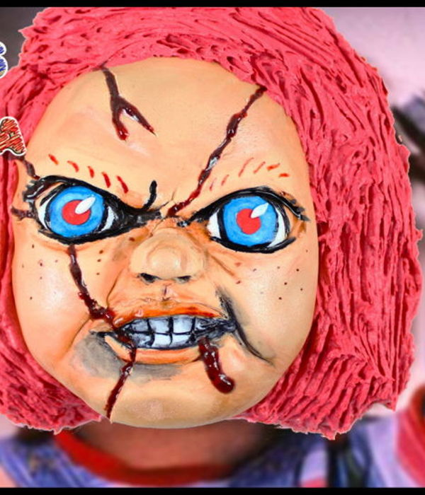 Halloween Cake - Chucky | Child's Play Tutorial