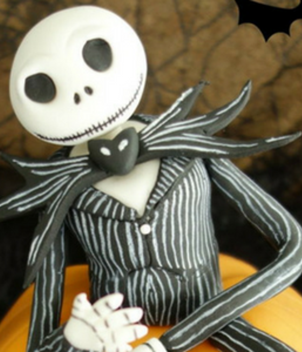 How to make Jack Skellington (Nightmare Before Christmas)...