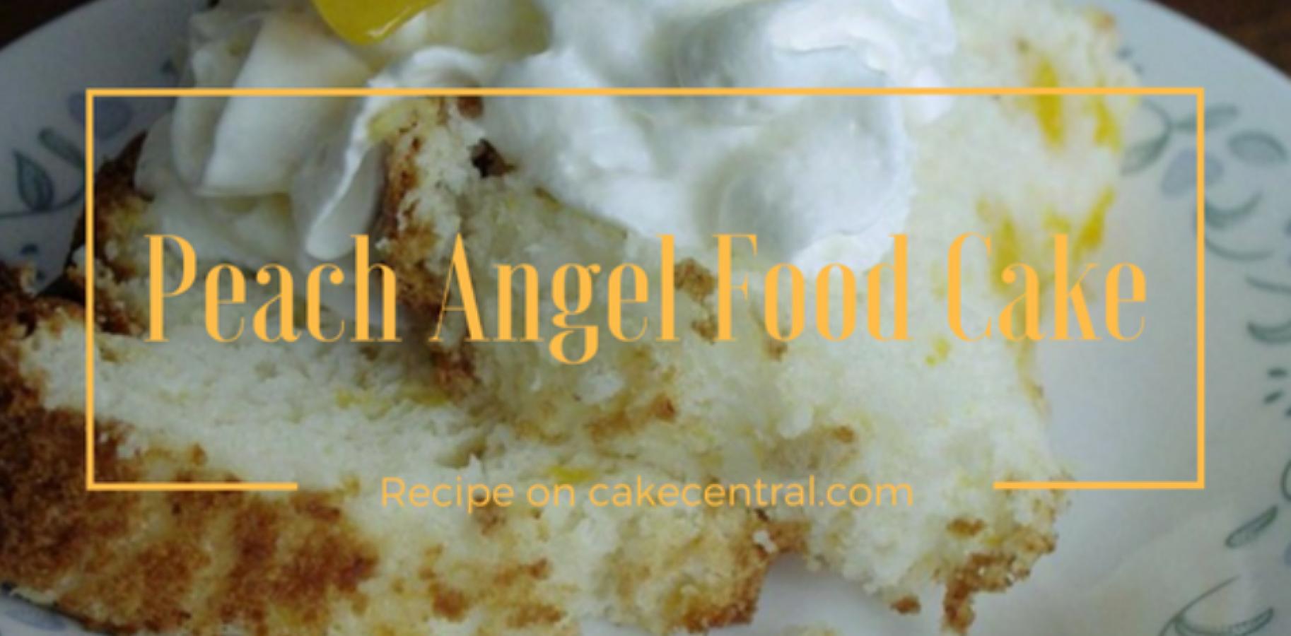 Diabetic Angel Food Cake Mix
