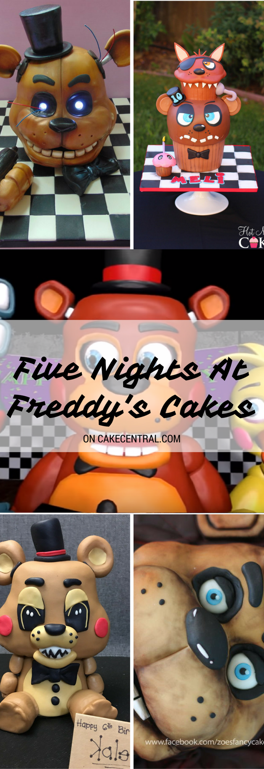 Five Nights At Freddy S Bedroom Decor: Top Five Nights At Freddy's Cakes