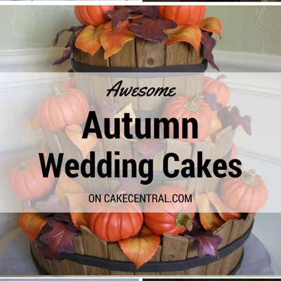 Awesome Autumn Wedding Cakes on Cake Central
