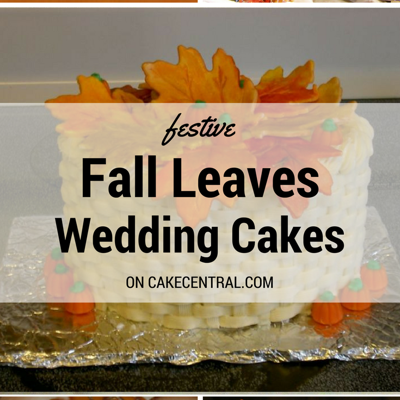 Cakes with Fall Leaves on Cake Central