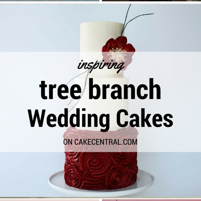 Inspiring Cakes with Branches & Twigs on Cake Central