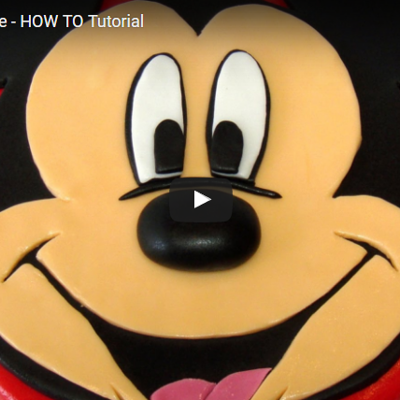 Mickey Mouse Cake - HOW TO Tutorial on Cake Central
