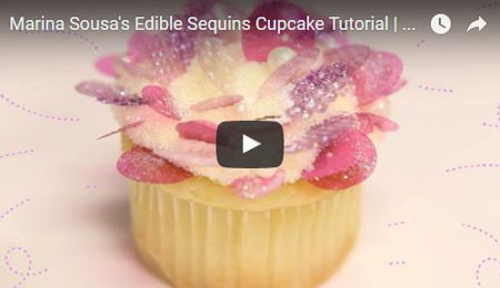 Marina Sousa's Edible Sequins Tutorial