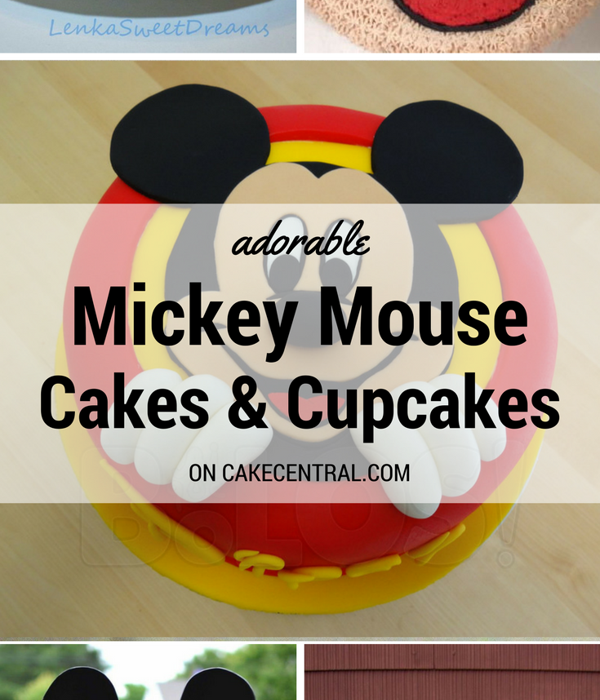 Top Mickey Mouse Cakes