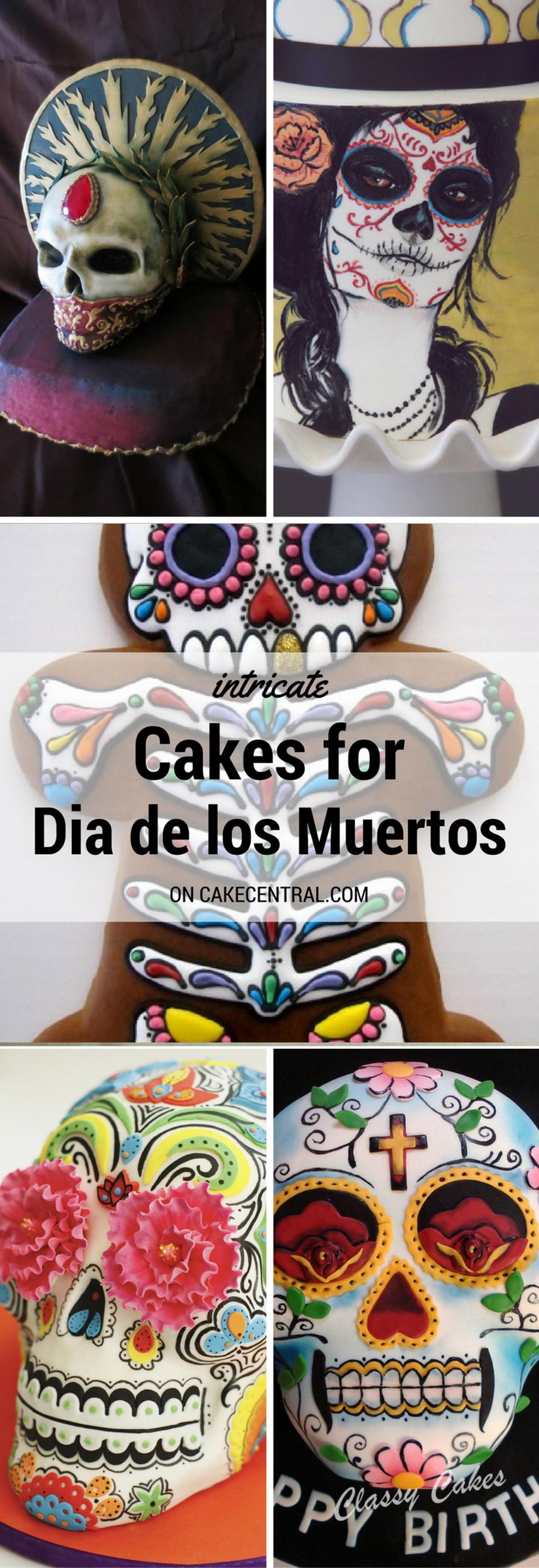 Dia De Los Muertos Cakes Cakecentral Com