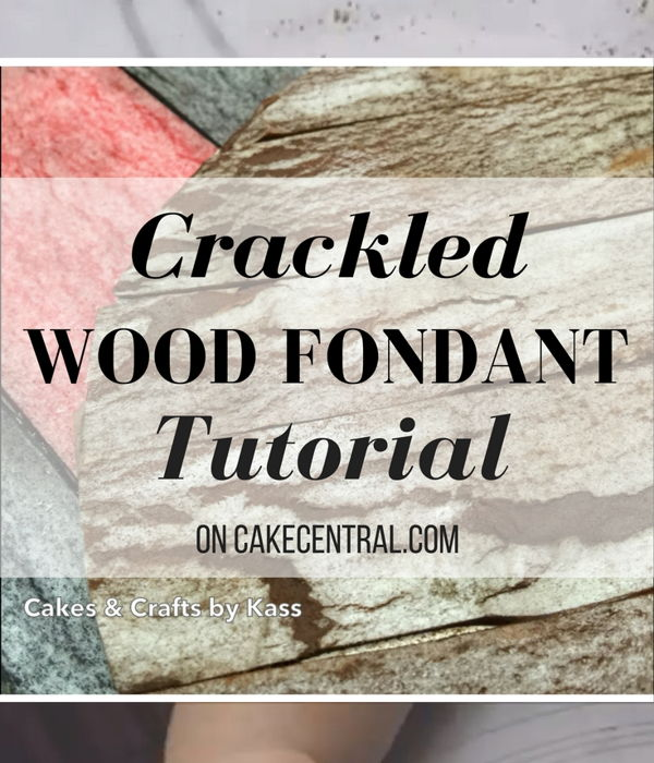 How to: Weathered Fondant Tutorial Using Wafer Paper (...