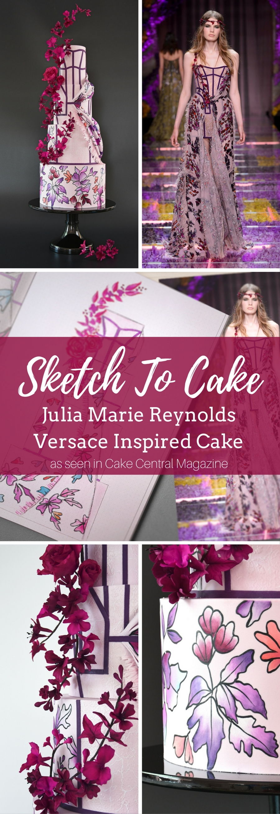 to Cake: Julia Marie Reynolds' Versace Inspired Couture Wedding Cake ...