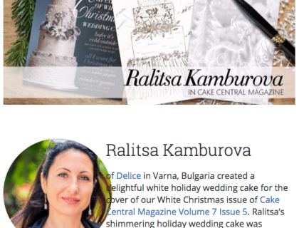 rkamburova Cake Central Cake Decorator Profile