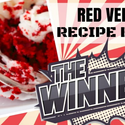 WINNER: Red Velvet Recipe Battle on Cake Central