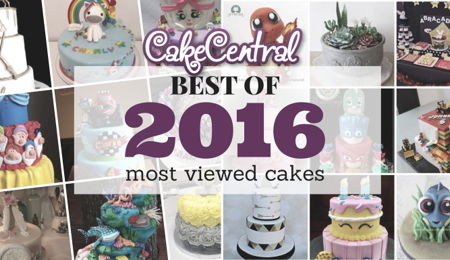 Most Viewed Cake Photos Of 2016