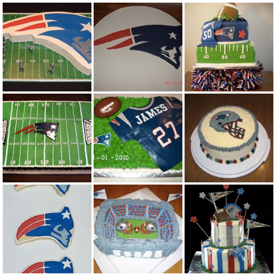Top New England Patriots Cakes on Cake Central