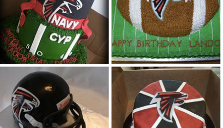 Atlanta Falcons Cakes