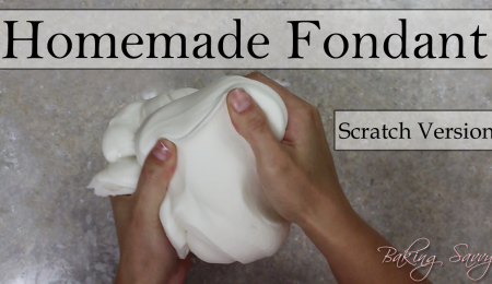Baking Savvy's Homemade Fondant (From Scratch)
