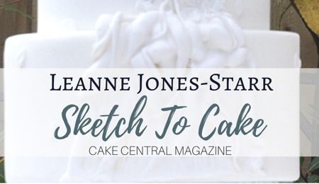 Sketch to Cake: Leanne Jones-Starr's Bernini Inspired Apollo and Daphne Wedding Cake