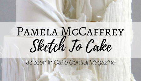 Sketch to Cake: Pamela McCaffrey's Bernini Inspired Apollo and Daphne Wedding Cake