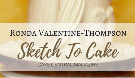 Sketch to Cake: Ronda Valentine-Thompson's Bernini Inspired Apollo and Daphne Wedding Cake