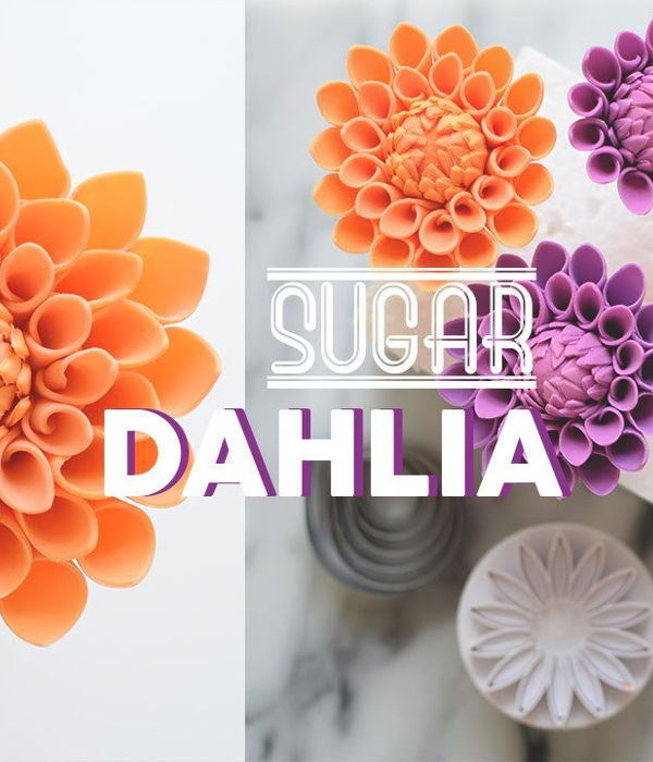 How to Make Gumpaste Dahlia