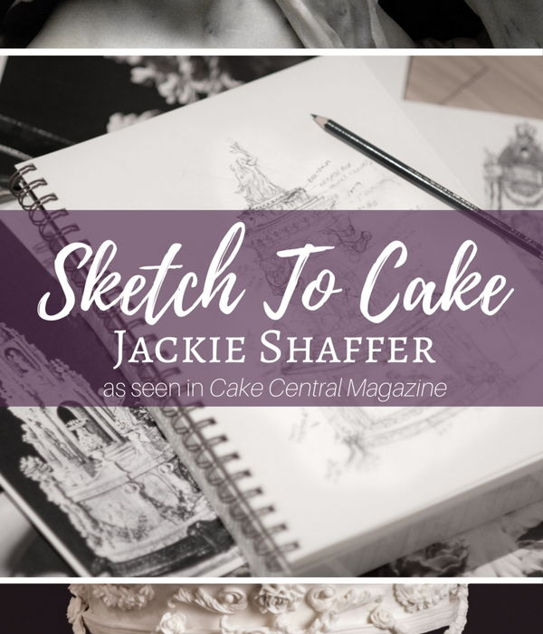 Sketch to Cake: Jackie Shaffer's Bernini Inspired...