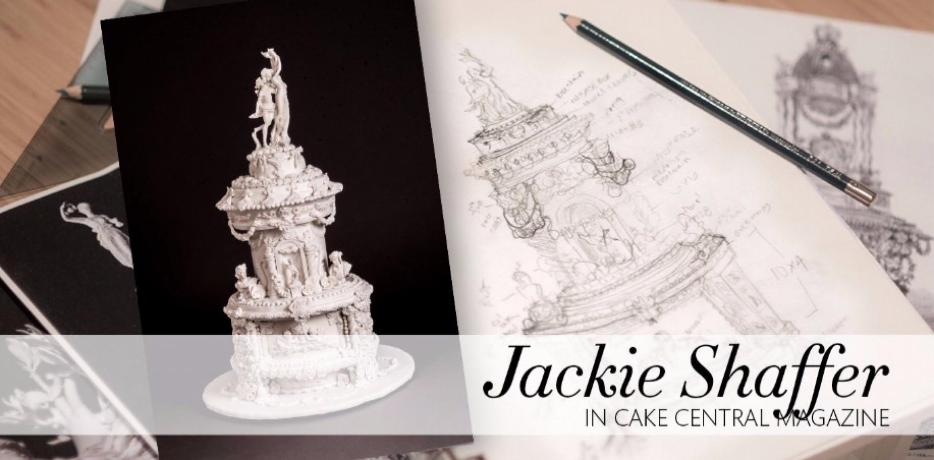 Sketch to Cake Jackie Shaffer's Bernini Inspired Apollo