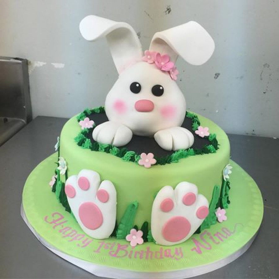 Bunny Birthday Cake Images