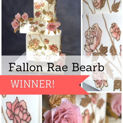 Flexique™ Instant Lace Cake Contest Winner Fallon Rae Bearb on Cake Central