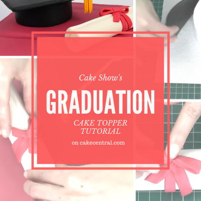 How To Make Fondant Graduation Cake Toppers on Cake Central