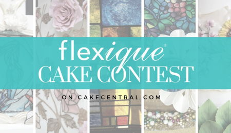 Flexique™ Instant Lace Cake Decorating Contest