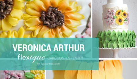 Flexique™ Instant Lace Cake Contest Entry Veronica Arthur