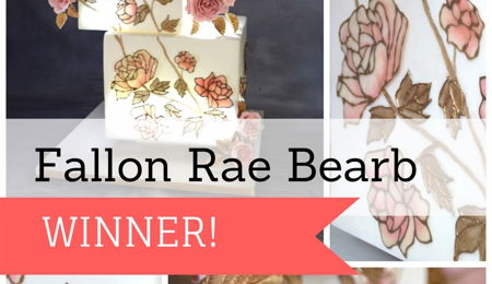 Flexique™ Instant Lace Cake Contest Winner Fallon Rae Bearb