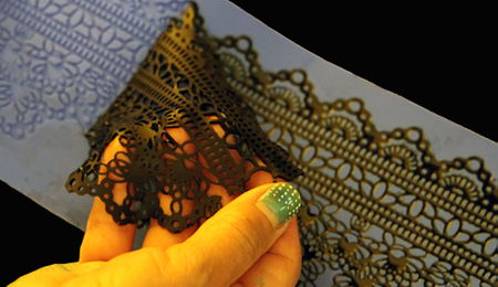 How To Get Perfect Edible Lace in Seconds with Flexique Instant Lace