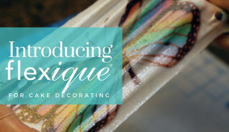 Introducing Flexique™ Instant Lace For Cake Decorating